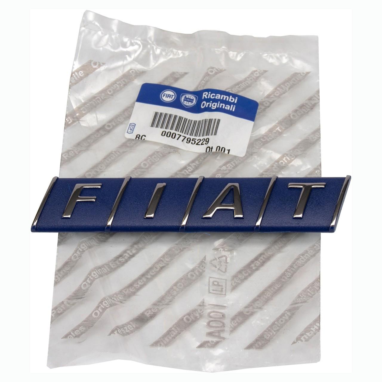 ORIGINAL Fiat Emblem Logo Plakette Heckklappe PUNTO (176_) UNO (146_) 7795229