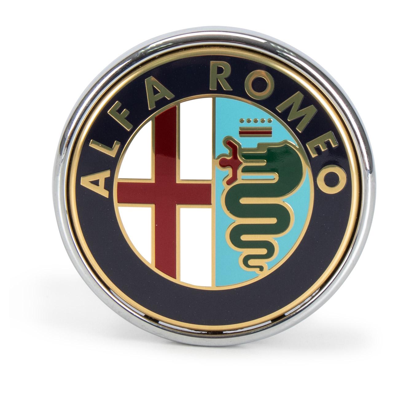 ORIGINAL Alfa Romeo Emblem Logo Plakette Heckklappe 159 939 Mito 959 50531454