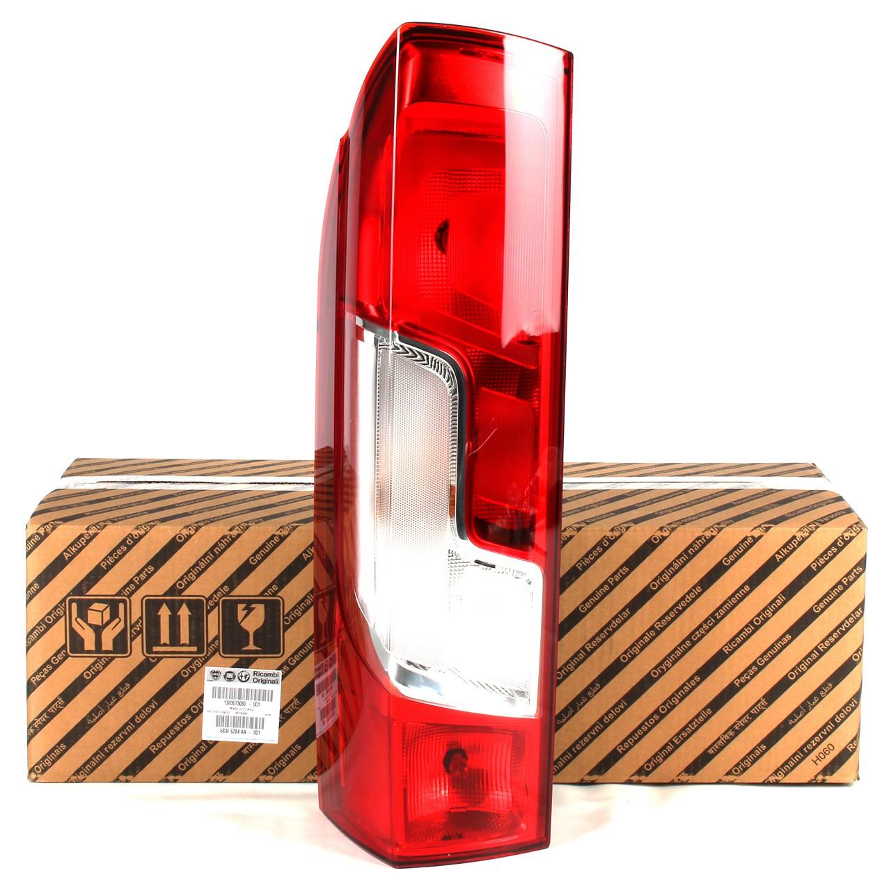 ORIGINAL Fiat Heckleuchte Rückleuchte LINKS 1380673080 für DUCATO (250_, 290_)