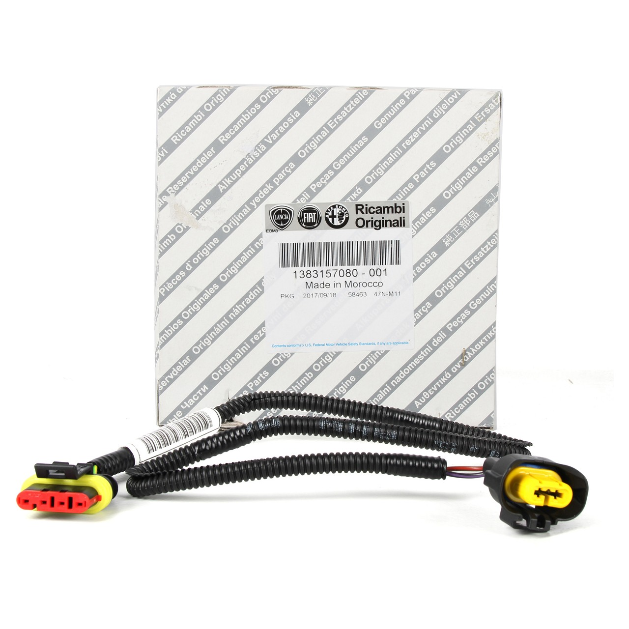 ORIGINAL Fiat Kabelstrang Nebelscheinwerfer 500L DOBLO DUCATO PUNTO 1383157080