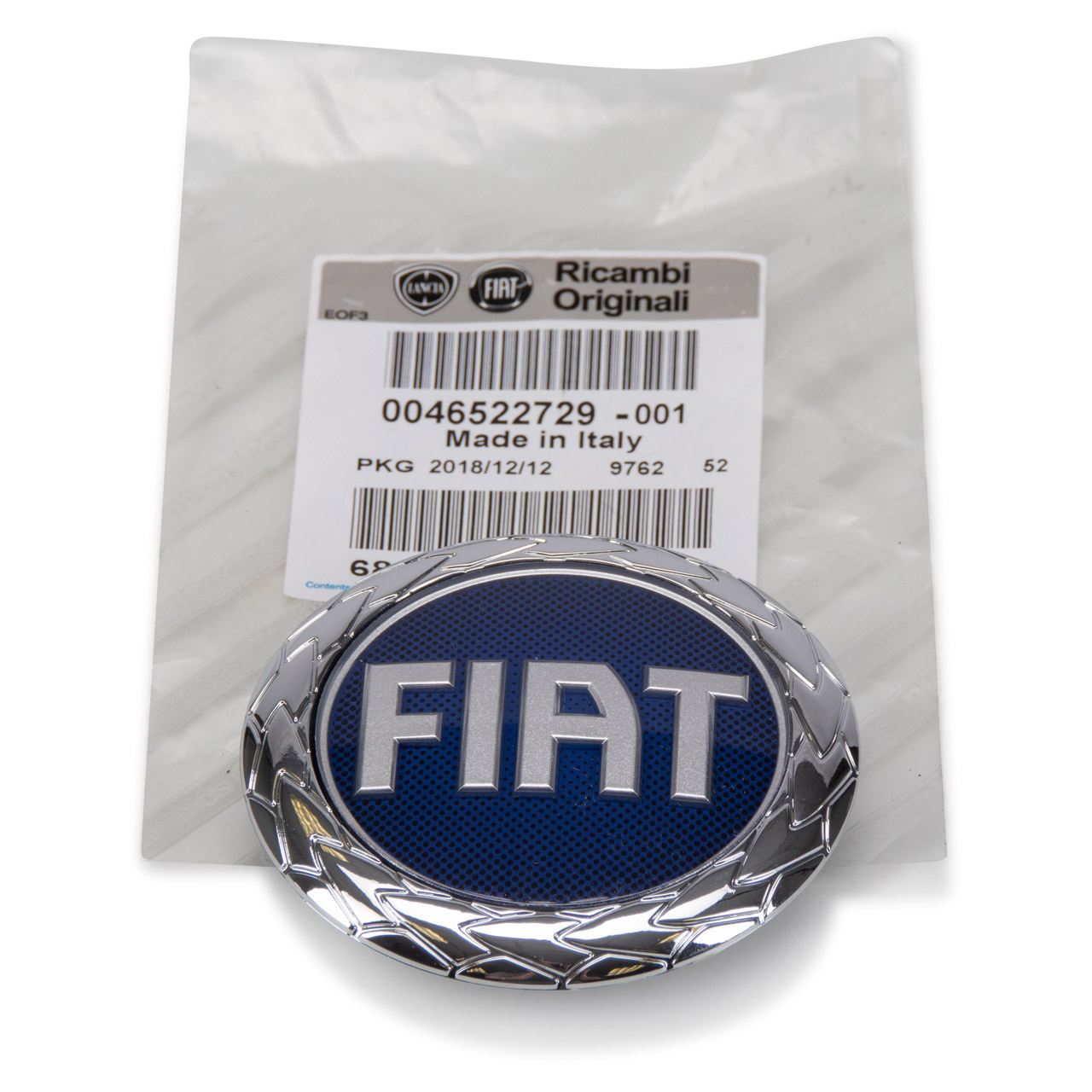 ORIGINAL Fiat Emblem Logo Kühlergrill BARCHETTA DOBLO PUNTO (188) 46522729