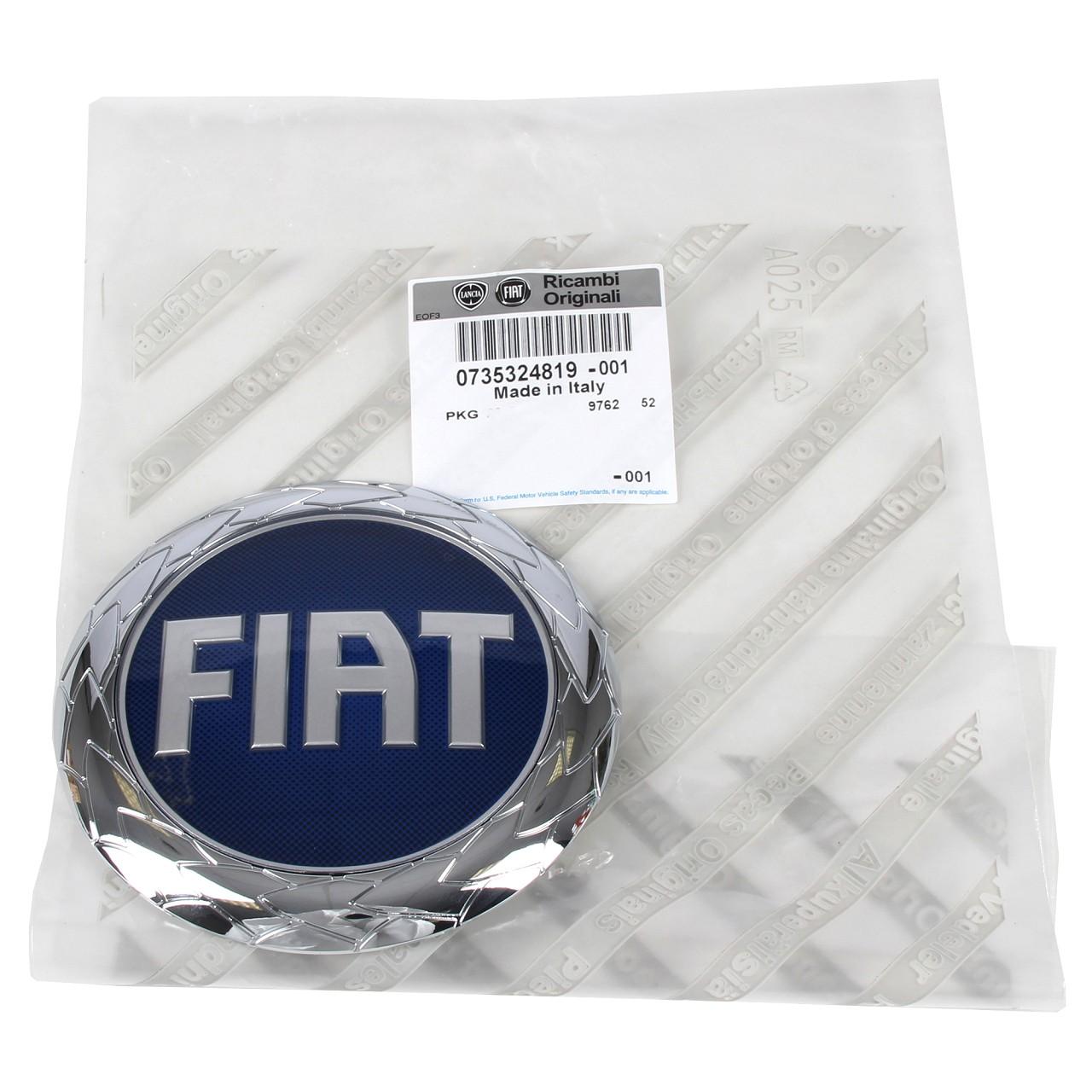 ORIGINAL Fiat Emblem Logo Kühlergrill VORNE 735324819 für DUCATO (244 250 290)