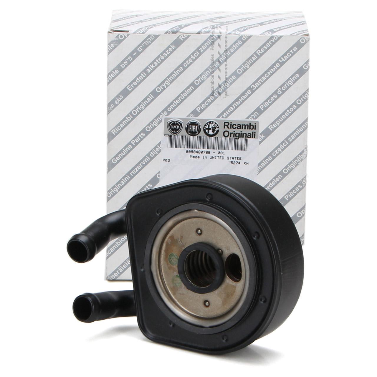 ORIGINAL Fiat Ölkühler Motorölkühler inkl. Dichtung DUCATO (230) 98480768