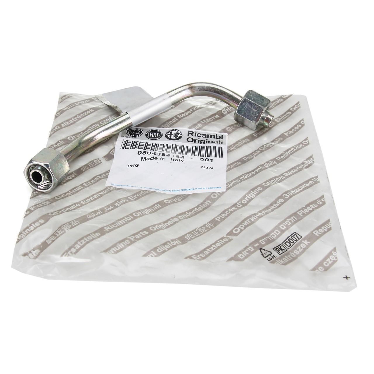 ORIGINAL Fiat Ölleitung Turbolader Lader DUCATO (250_ 290_) 2.3 D 504384184