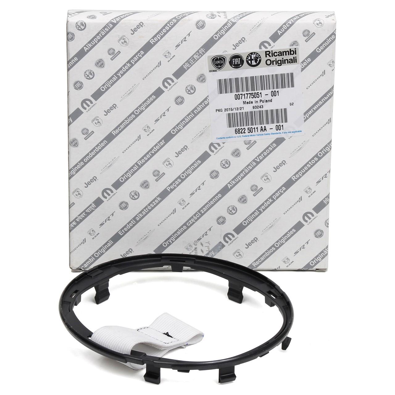 ORIGINAL Fiat 500 Plastikring Befestigungsring Schalthebel Manschette 71775051