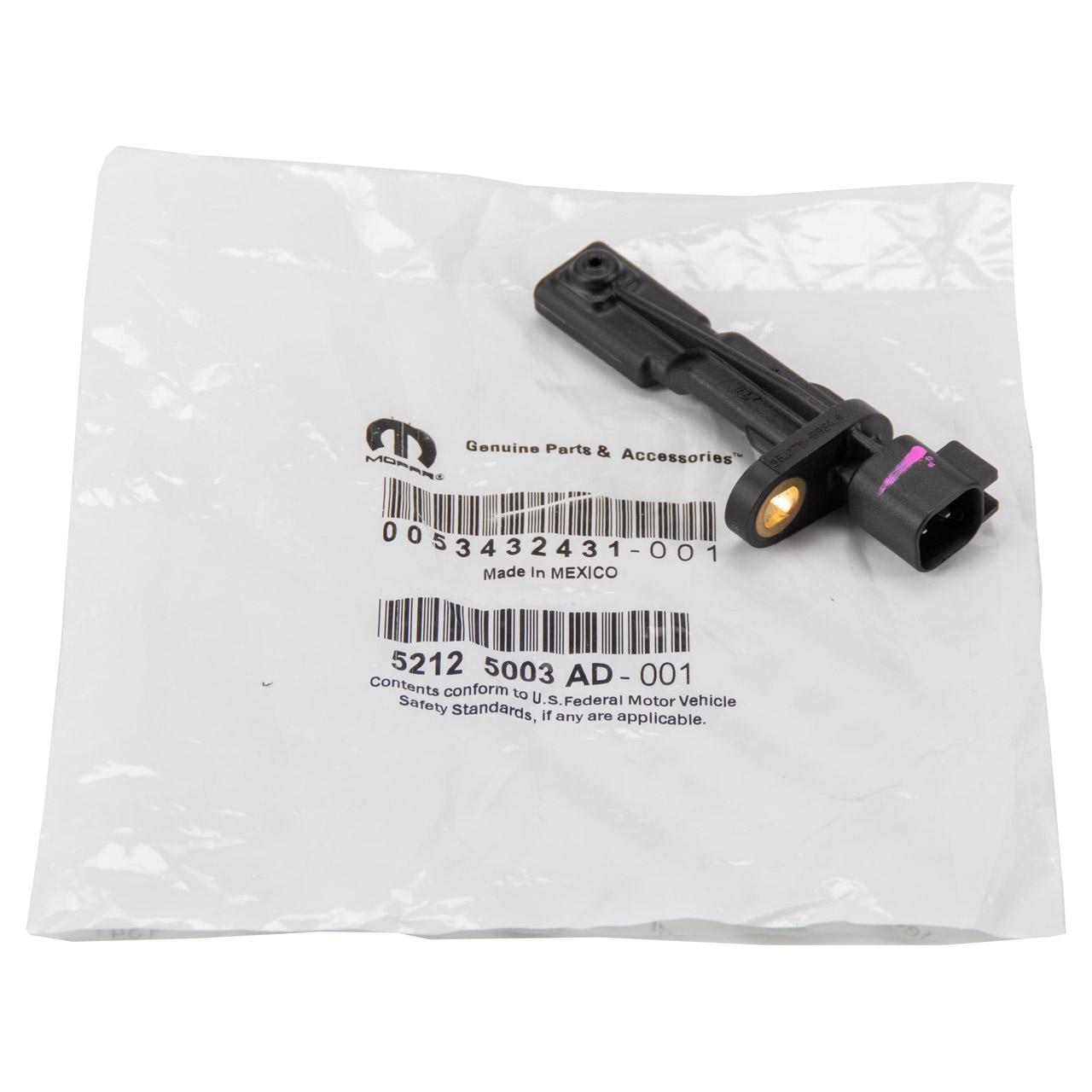 ORIGINAL MOPAR ABS Sensor Raddrehzahlsensor DODGE JEEP hinten 52125003AD