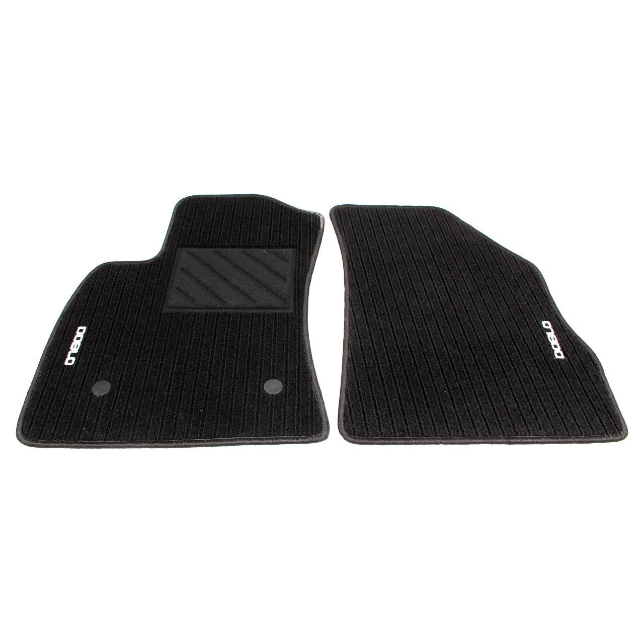 ORIGINAL Fiat Textilmatten Fußmatten Automatten Satz DOBLO (263_) VORNE 71807938