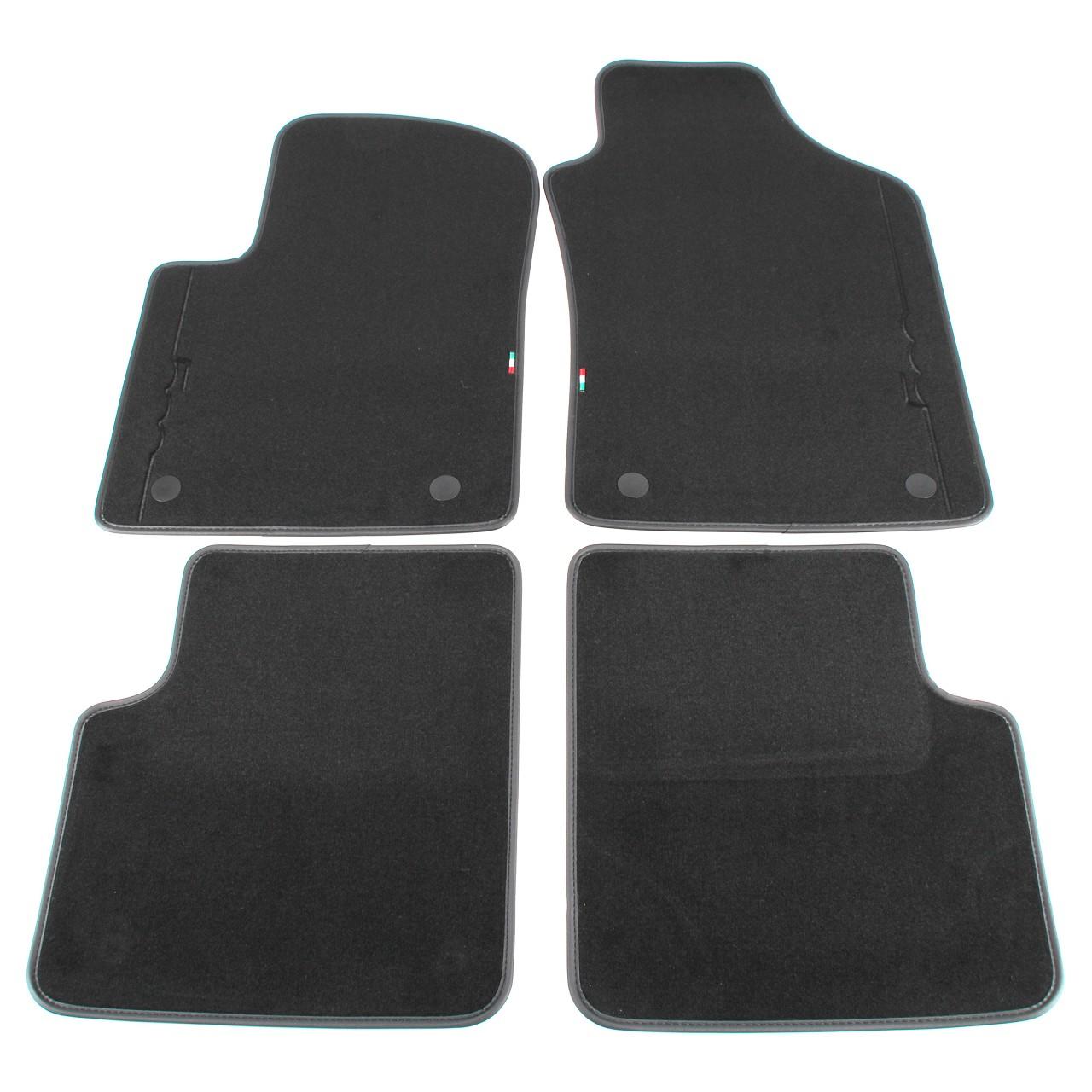 ORIGINAL Fiat Textilmatten Fußmatten Automatten Satz 500 / C 312 4-TLG 71807943