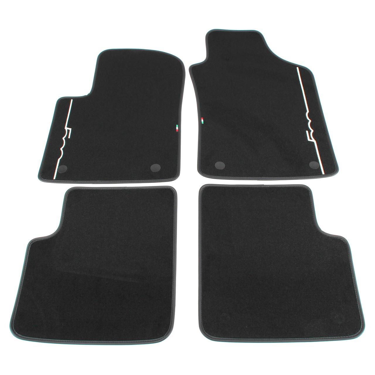ORIGINAL Fiat Textilmatten Fußmatten Automatten Satz 500 / C 312 4-TLG 71807945