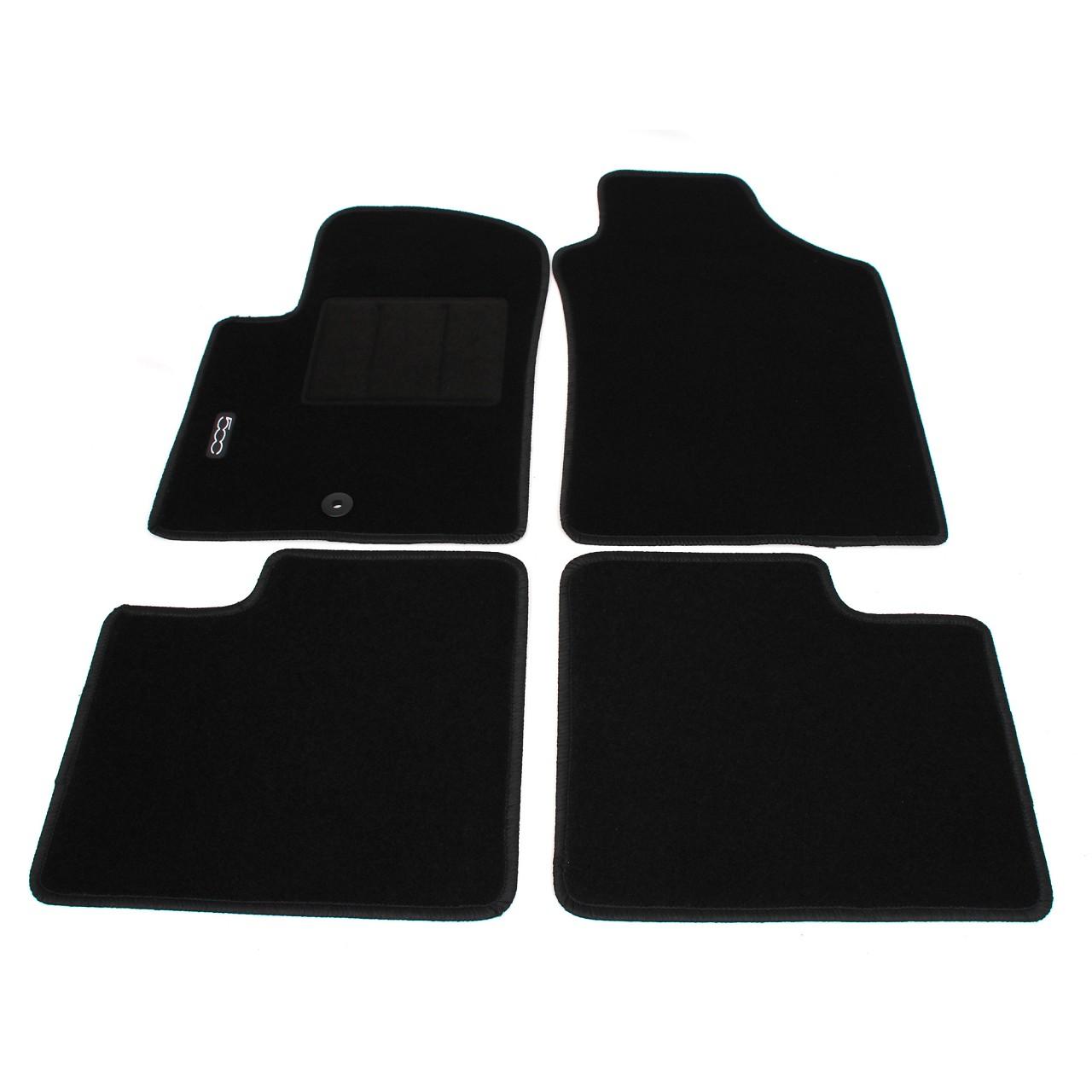 ORIGINAL FIAT ABARTH Textilmatten Fußmatten Automatten Satz 500 (312) 71807957