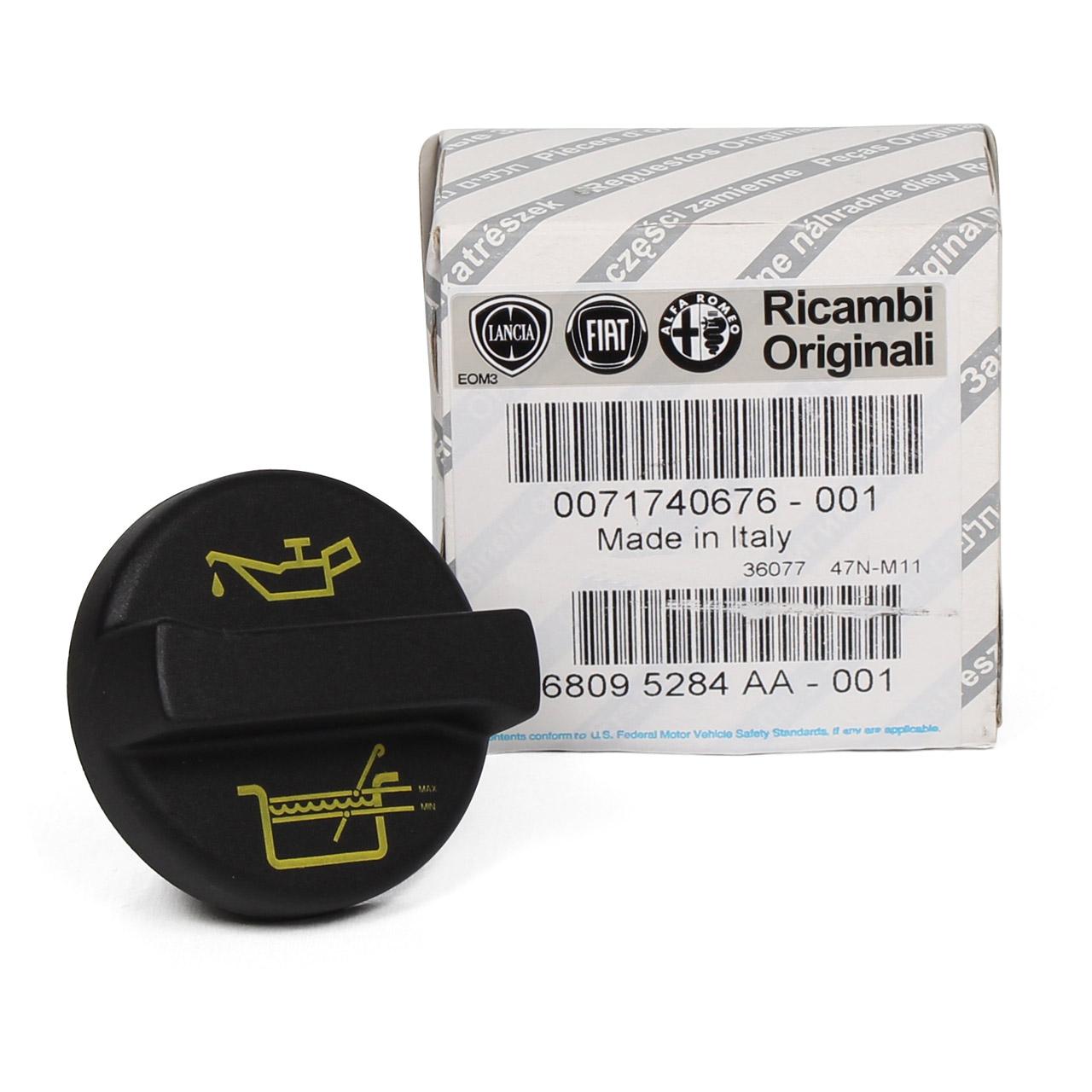 ORIGINAL Fiat Ölverschlusskappe Öldeckel Ölkappe PUNTO PANDA TIPO UNO 71740676