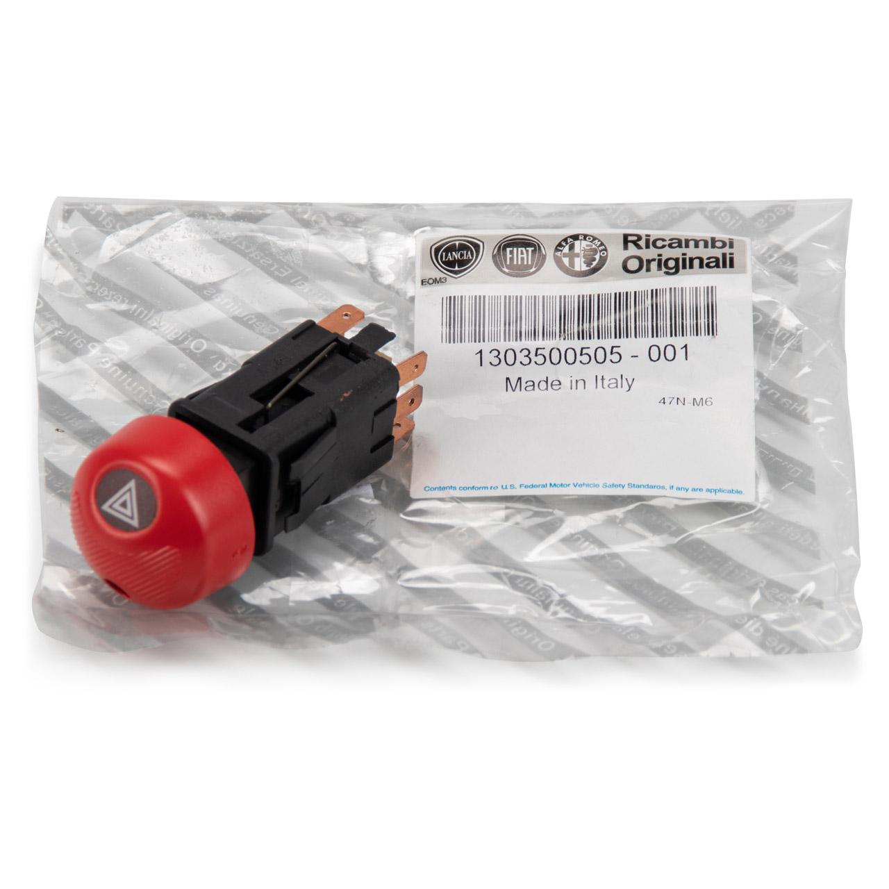 ORIGINAL Fiat Warnblinkschalter Warnblinker Warnblinklicht DUCATO 230 1303500505