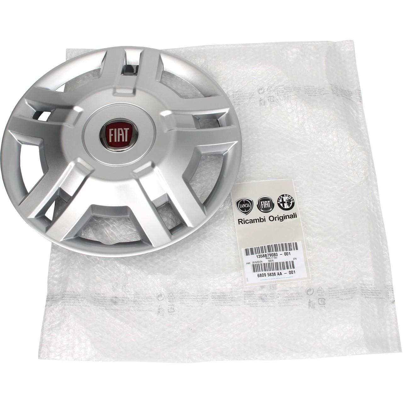 "Original Fiat Ducato 250 Radkappe Radzierblende Silber 15"" Zoll 1358879080"