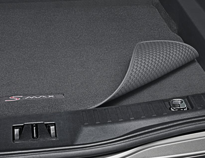 ORIGINAL Ford Anti-Rutsch-Matte Kofferraum Wendematte S-MAX ab 06.2015 1904536