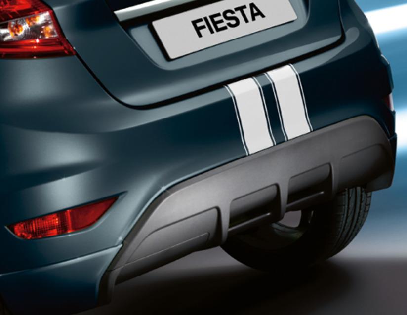 ORIGINAL Ford Aufkleber Zierstreifen Kit WEISS 1702784 für FIESTA VI bis 12.2012