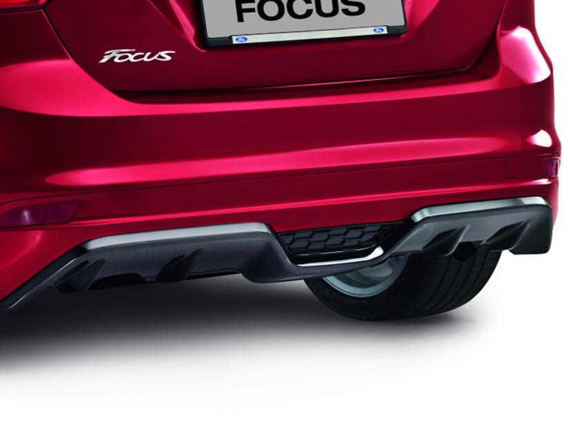 ORIGINAL Ford Heckstoßfänger Diffusoreinsatz SCHWARZ 1759541 für FOCUS III 5-TRG