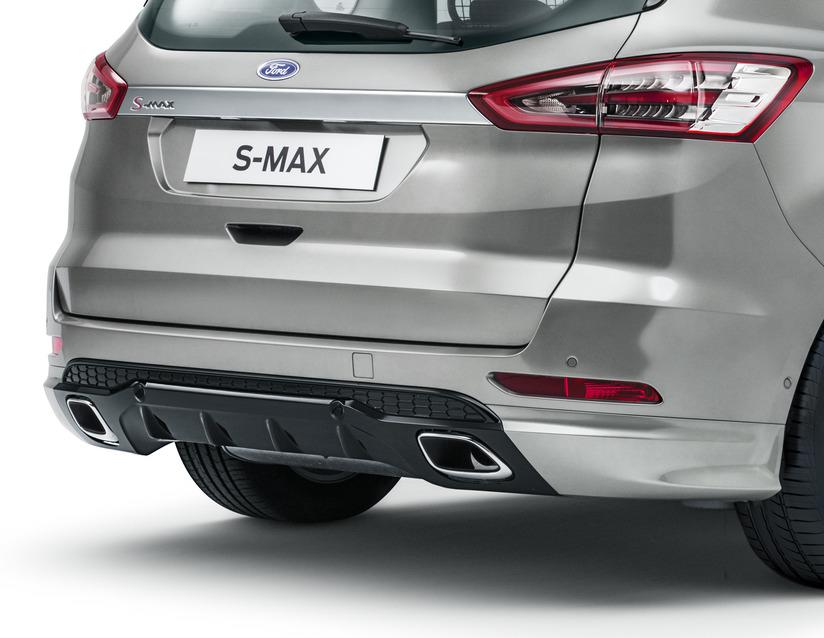 ORIGINAL Ford Heckschürze HINTEN LINKS 1941017 für S-MAX ab 06.2015