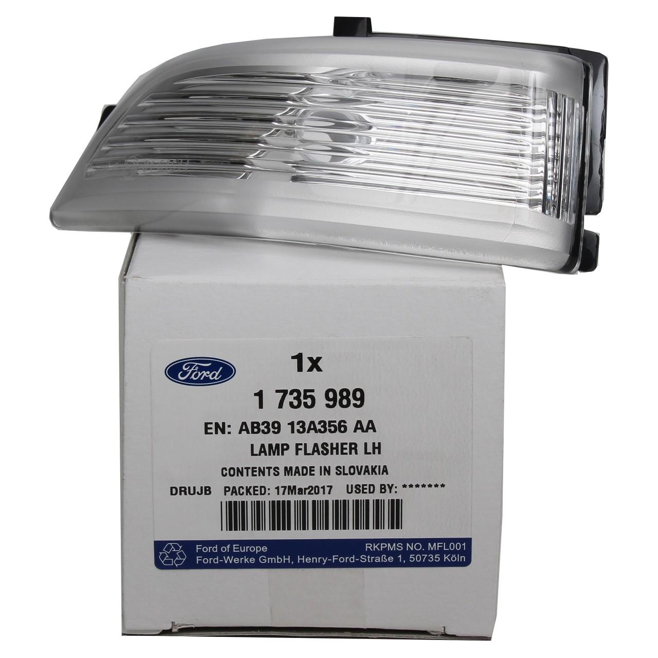 ORIGINAL Ford Blinker Blinkleuchte Außenspiegel RANGER (TKE) links 1735989