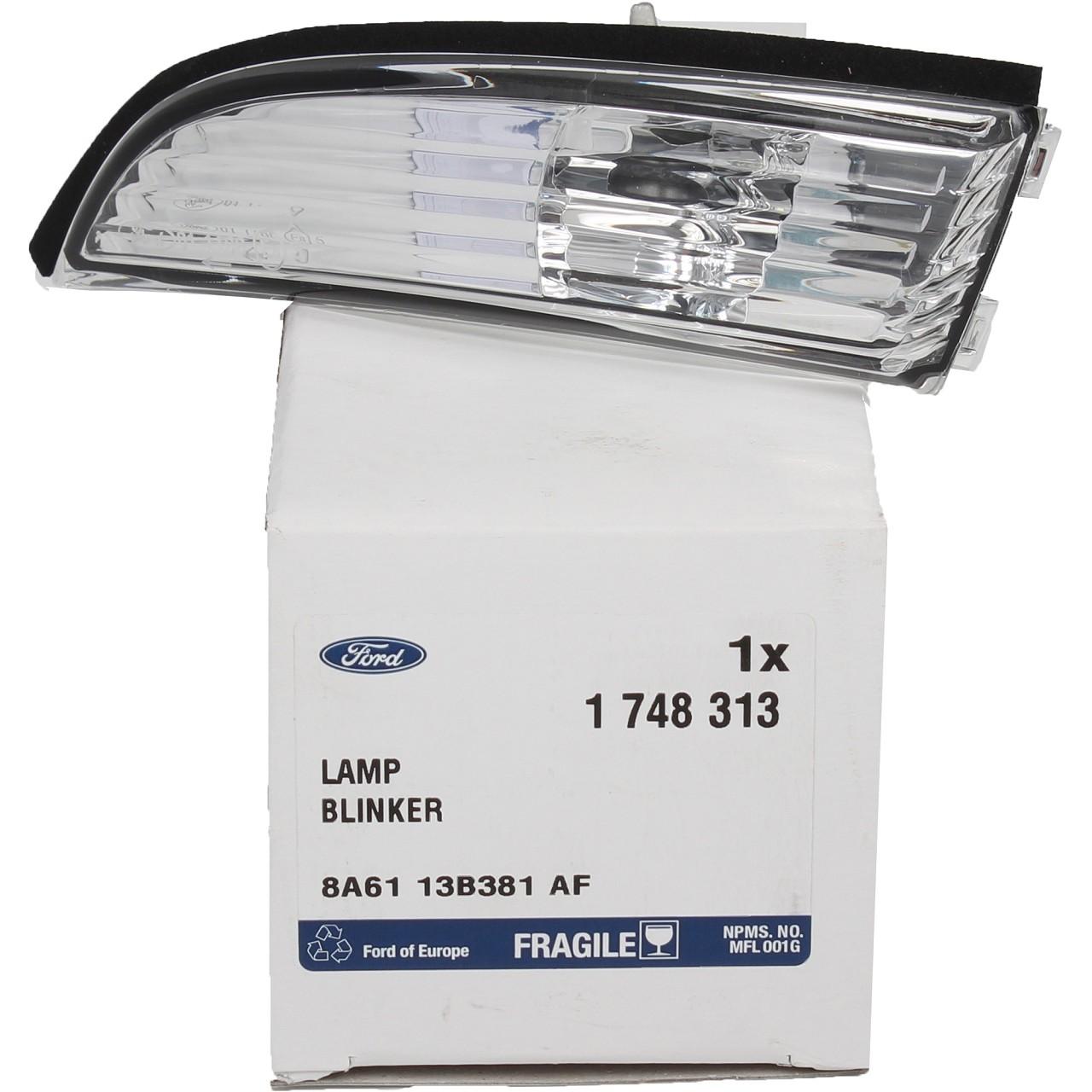 ORIGINAL Ford Außenspiegel Blinker Seitenblinker B-Max Fieta VI links 1748313
