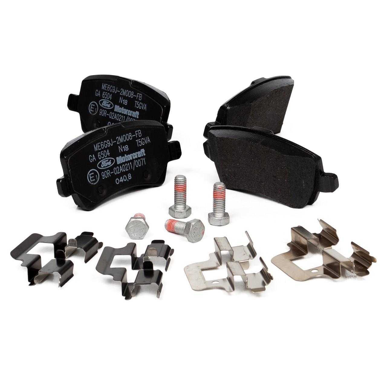 ORIGINAL Ford Bremsen Kit Bremsscheiben + Beläge GALAXY S-MAX (WA6) vorne+hinten