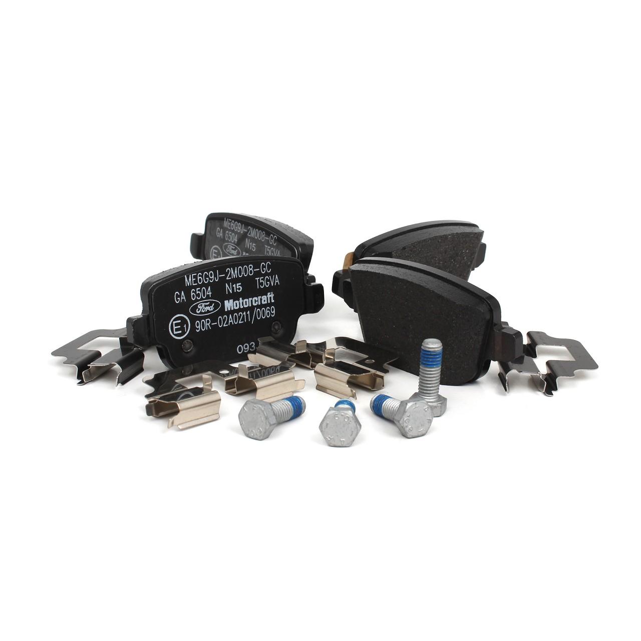 ORIGINAL Ford Bremsscheiben + Bremsbeläge MONDEO IV MK4 vorne + hinten