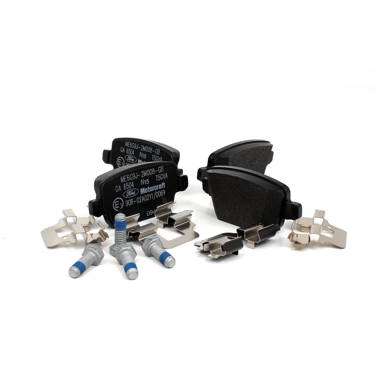 ORIGINAL Ford Bremsscheiben + Beläge MONDEO IV MK4 vorne + hinten