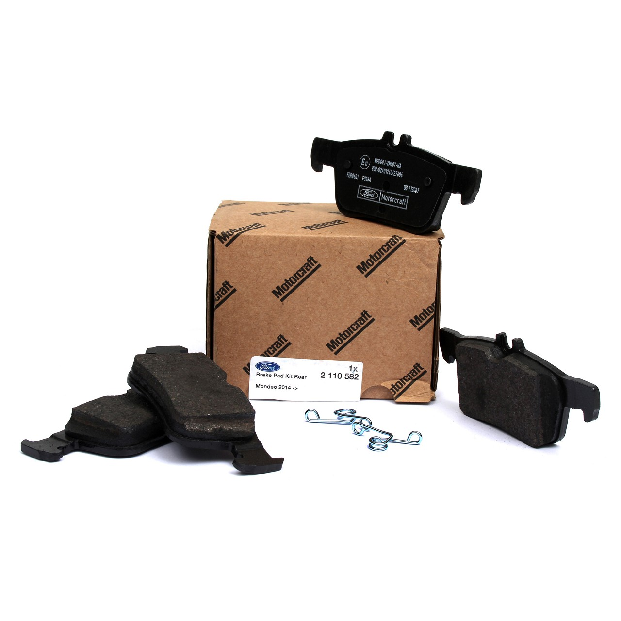 ORIGINAL Ford Bremsbeläge MONDEO V MK5 16 Zoll ab 05.2015 hinten 2110582