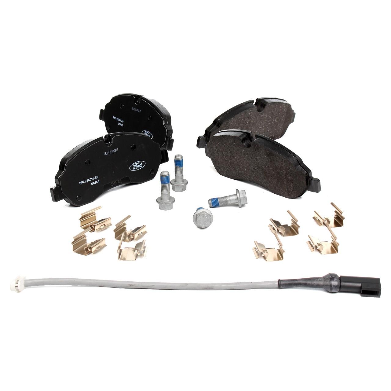 ORIGINAL Ford Bremsscheiben + Bremsbeläge + Wako TRANSIT CUSTOM Kasten vorne