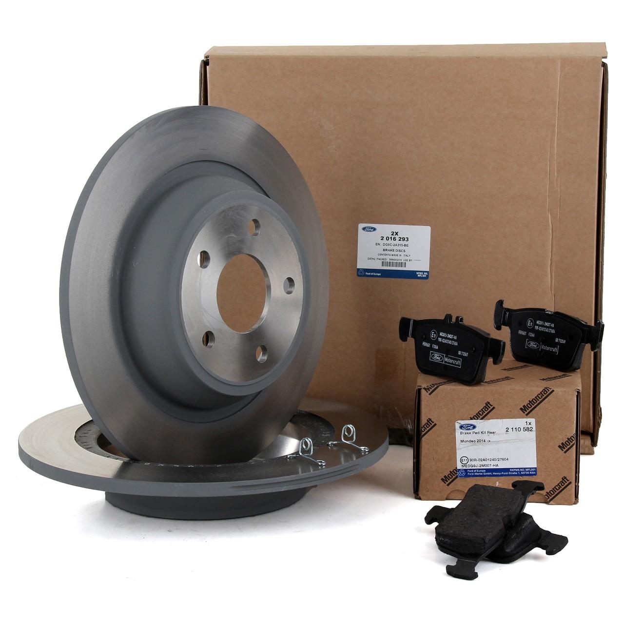 ORIGINAL Ford Bremsscheiben + Bremsbeläge MONDEO V MK5 16 Zoll ab 05.2015 hinten