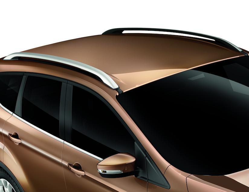 ORIGINAL Ford Dachreling für Dachträger SILBER 1805281 für KUGA II ab 11.2012