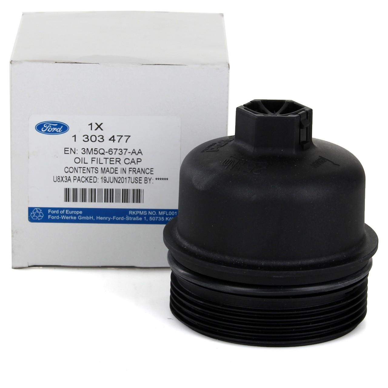 ORIGINAL Ford Deckel Ölfilter Ölfiltergehäuse FOCUS II MONDEO IV 2.0TDCi 1303477
