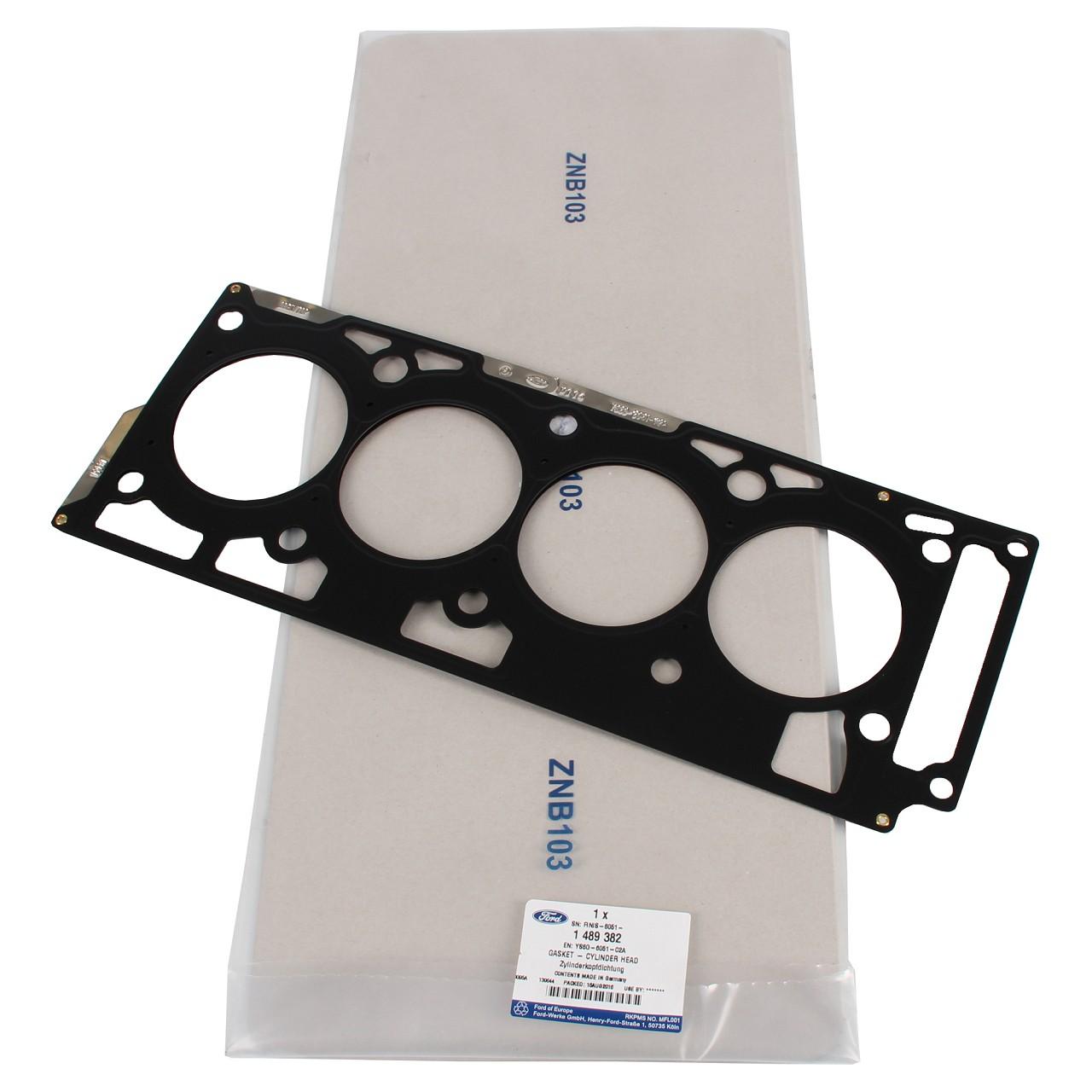 ORIGINAL Ford Zylinderkopfdichtung KA (RB) STREET KA (RL2) 1.6i 95 PS 1489382