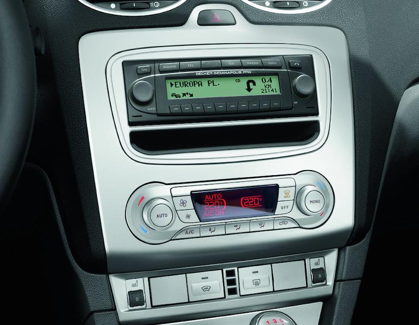 ORIGINAL Ford 1567628 Einbaublende Audiosysteme in DIN-Größe FOCUS II ab 01.2008