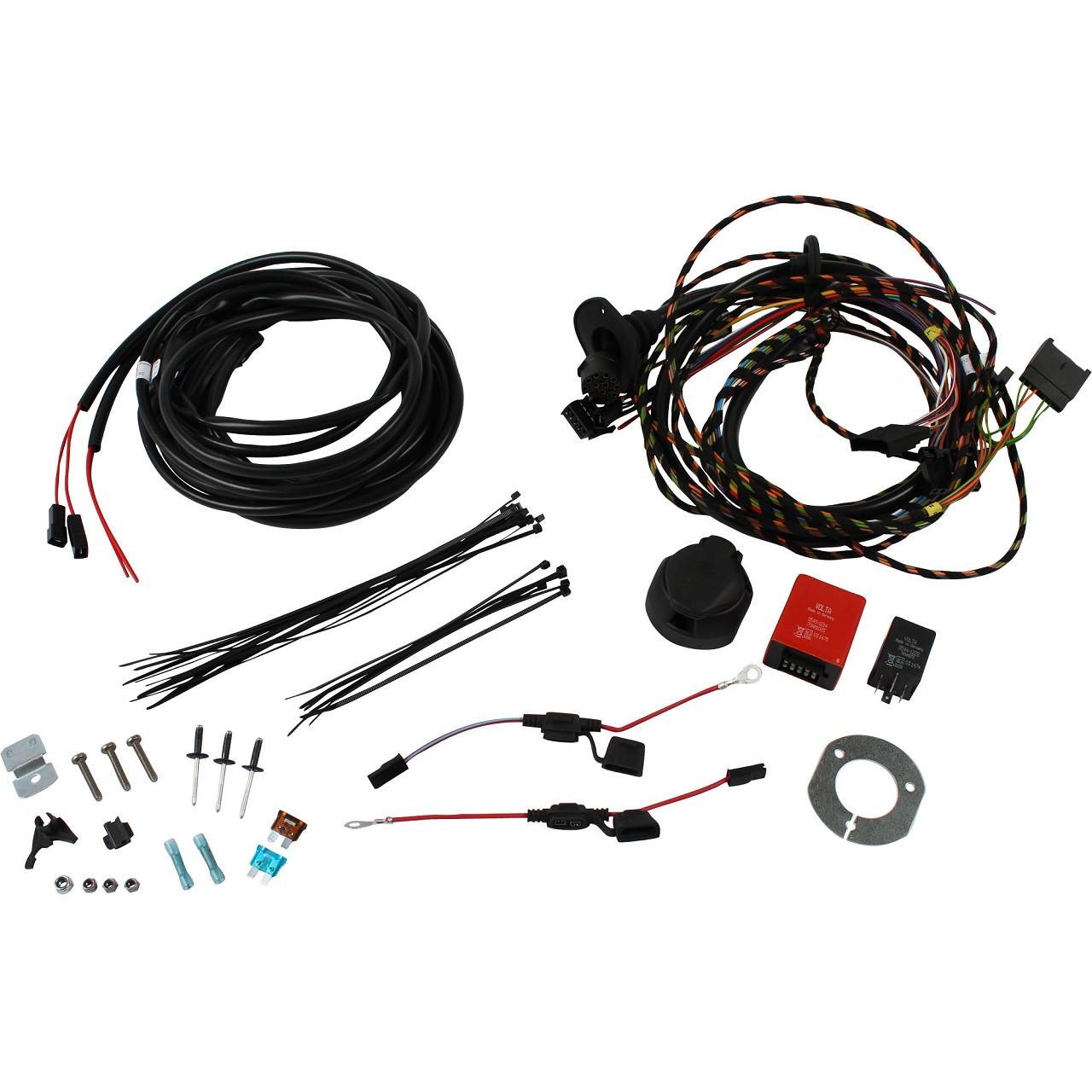 ORIGINAL Ford E-Satz Kabelsatz Anhängerkupplung Transit Tourneo 13-polig 1765670