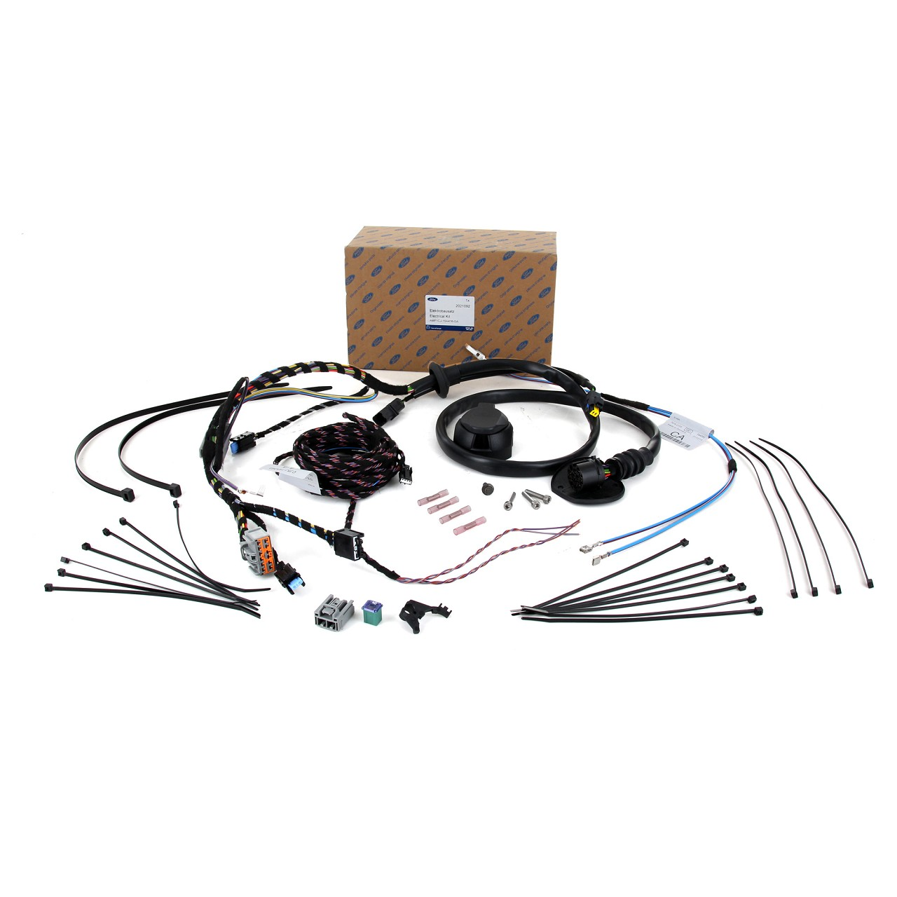 ORIGINAL Ford E-Satz Kabelsatz Anhängerkupplung GRAND / C-MAX II 13-pol. 2021092