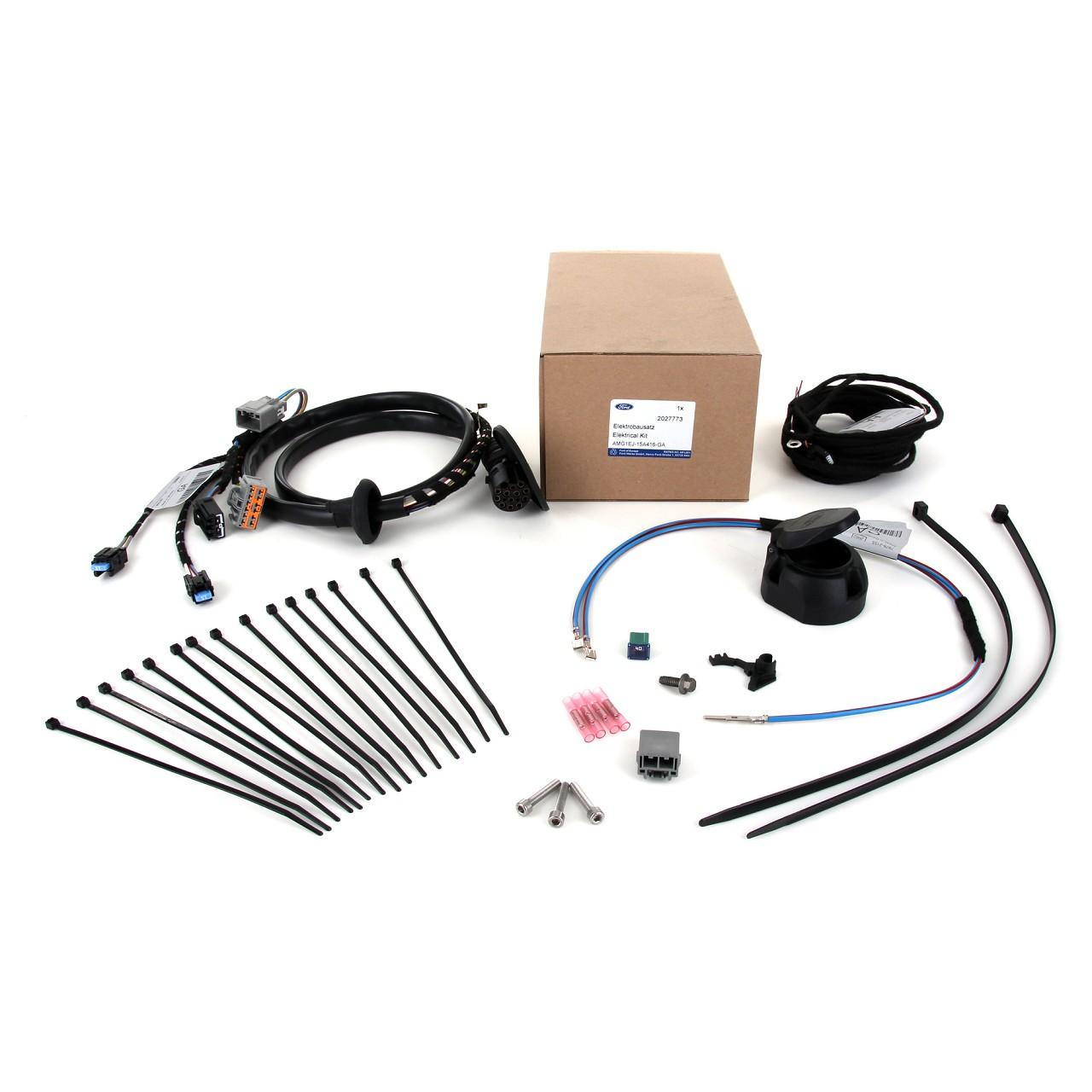 ORIGINAL Ford E-Satz Kabelsatz Anhängerkupplung 13-POL 2027773 FOCUS III Turnier