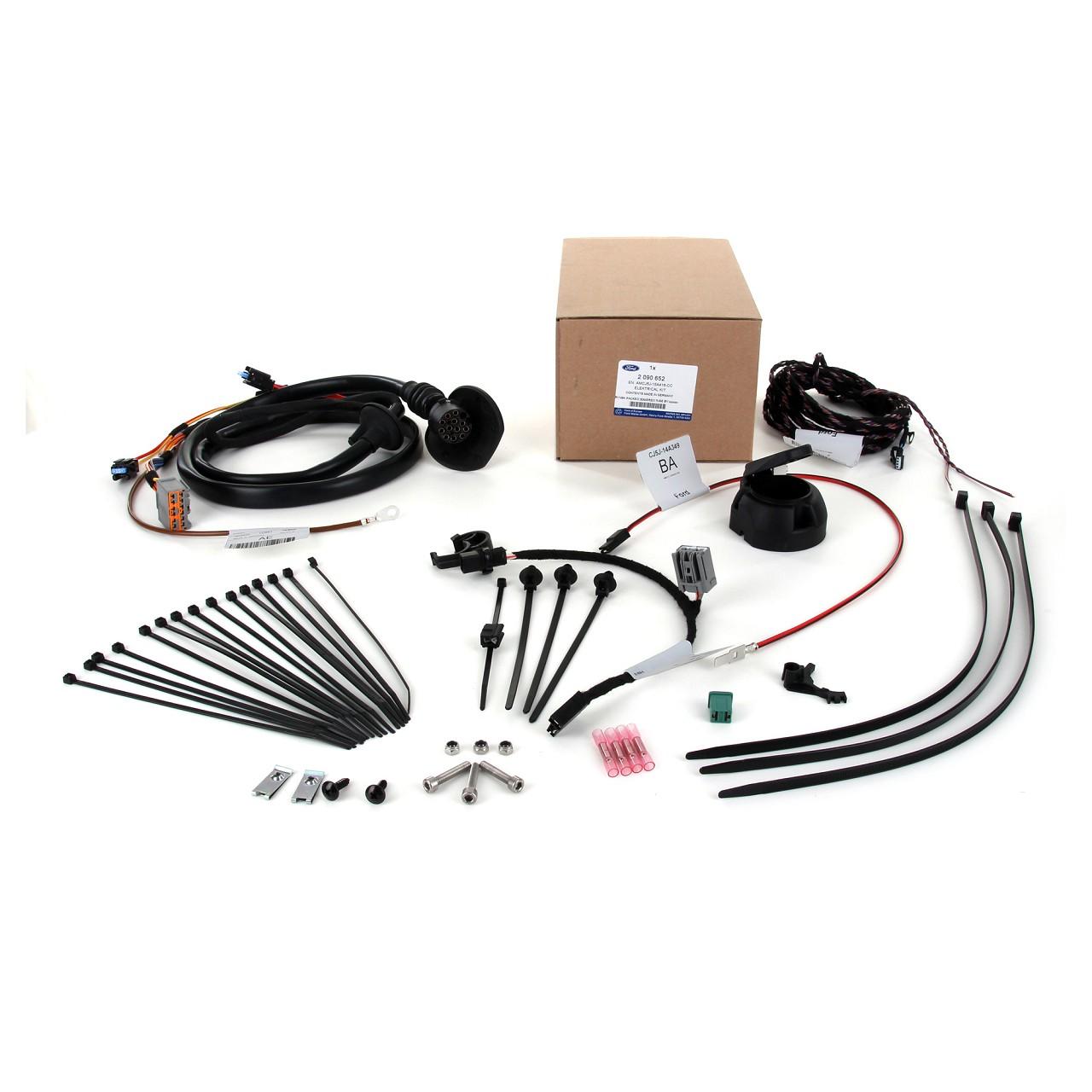 ORIGINAL Ford E-Satz Kabelsatz Anhängerkupplung 13-POL 2090652 KUGA II (DM2)