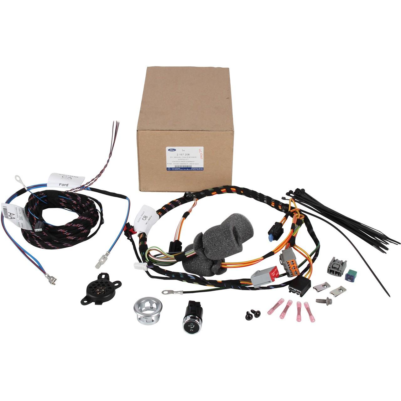 ORIGINAL Ford E-Satz Kabelsatz Anhängerkupplung 13-polig 2167208 für KUGA II MK2