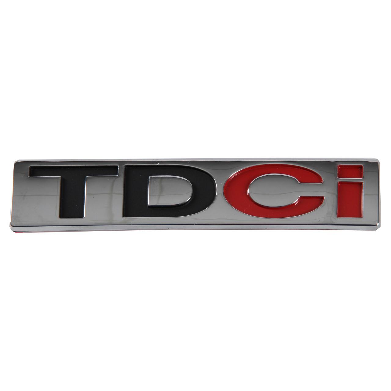 "ORIGINAL Ford Emblem Schriftzug ""TDCi"" 1375710 für FIESTA FOCUS GALAXY MONDEO"