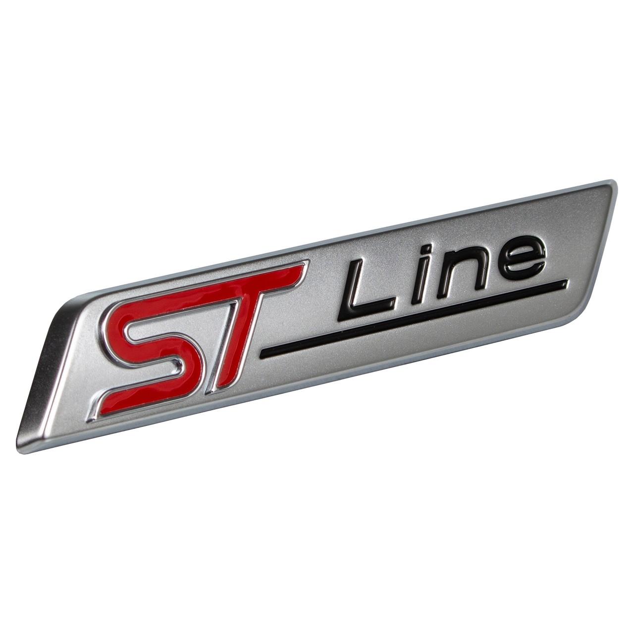 """ORIGINAL Ford Emblem Plakette Schriftzug """"ST-Line"""" vorne links / rechts 2044452"""