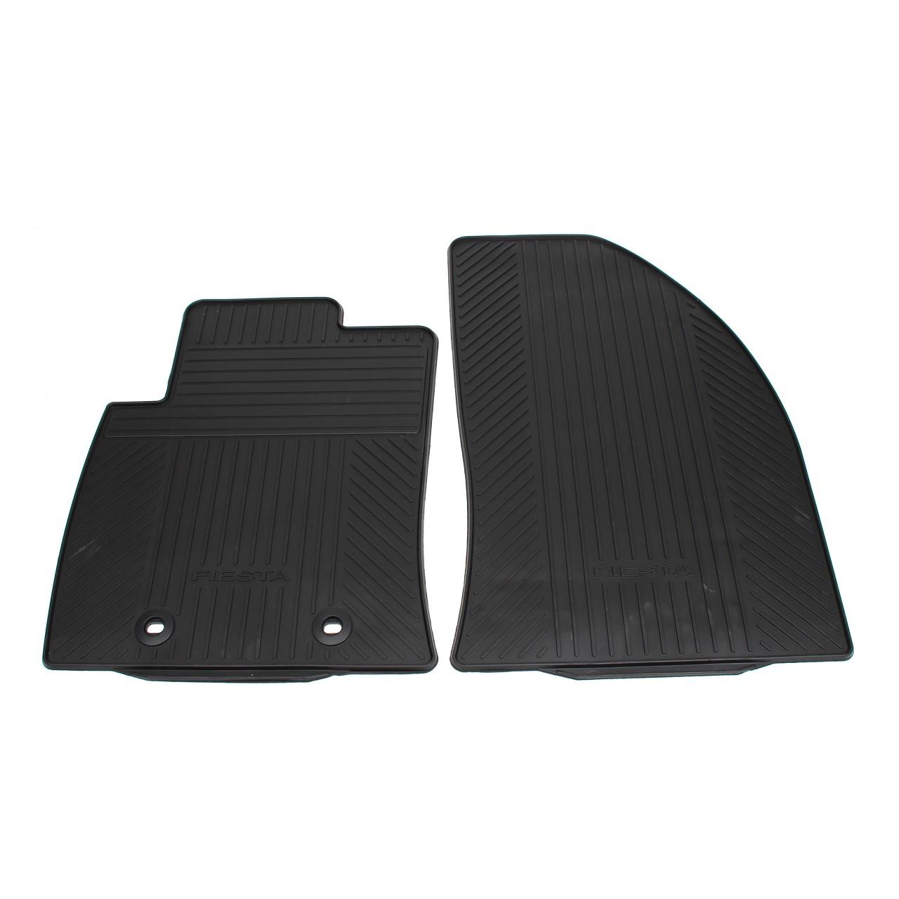 ORIGINAL Ford Gummimatten Fußmatten Automatten Satz FIESTA V MK5 vorne 1446603