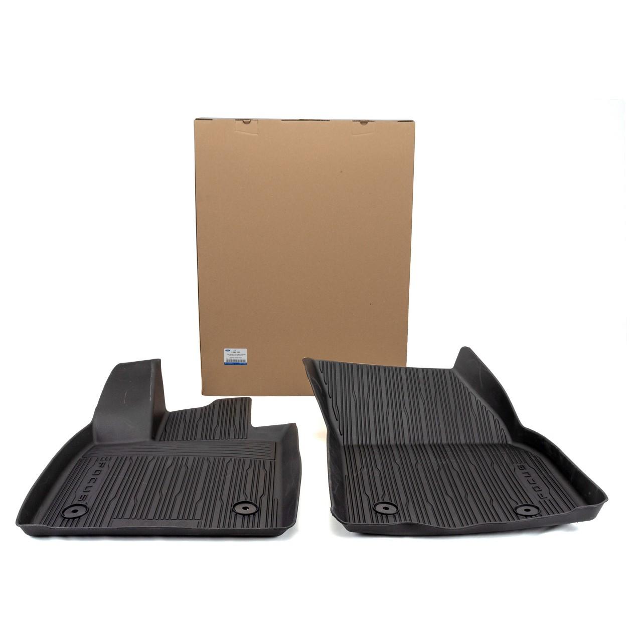 ORIGINAL Ford Gummimatten Fußmatten Automatten Satz 2-tlg FOCUS IV vorne 2281220