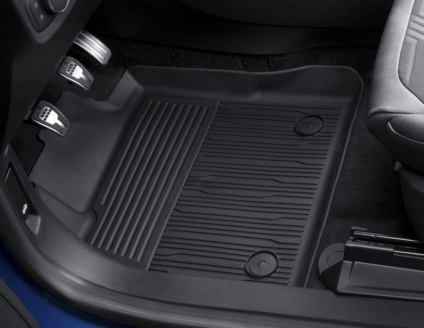 ORIGINAL Ford Gummimatten Fußmatten Satz FIESTA 8 MK8 ab 07.2017 vorne 2439078