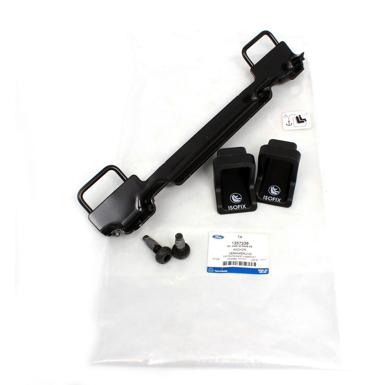 ORIGINAL Ford ISOFIX Halterung Befestigung Nachrüstung Focus II MK2 1357238