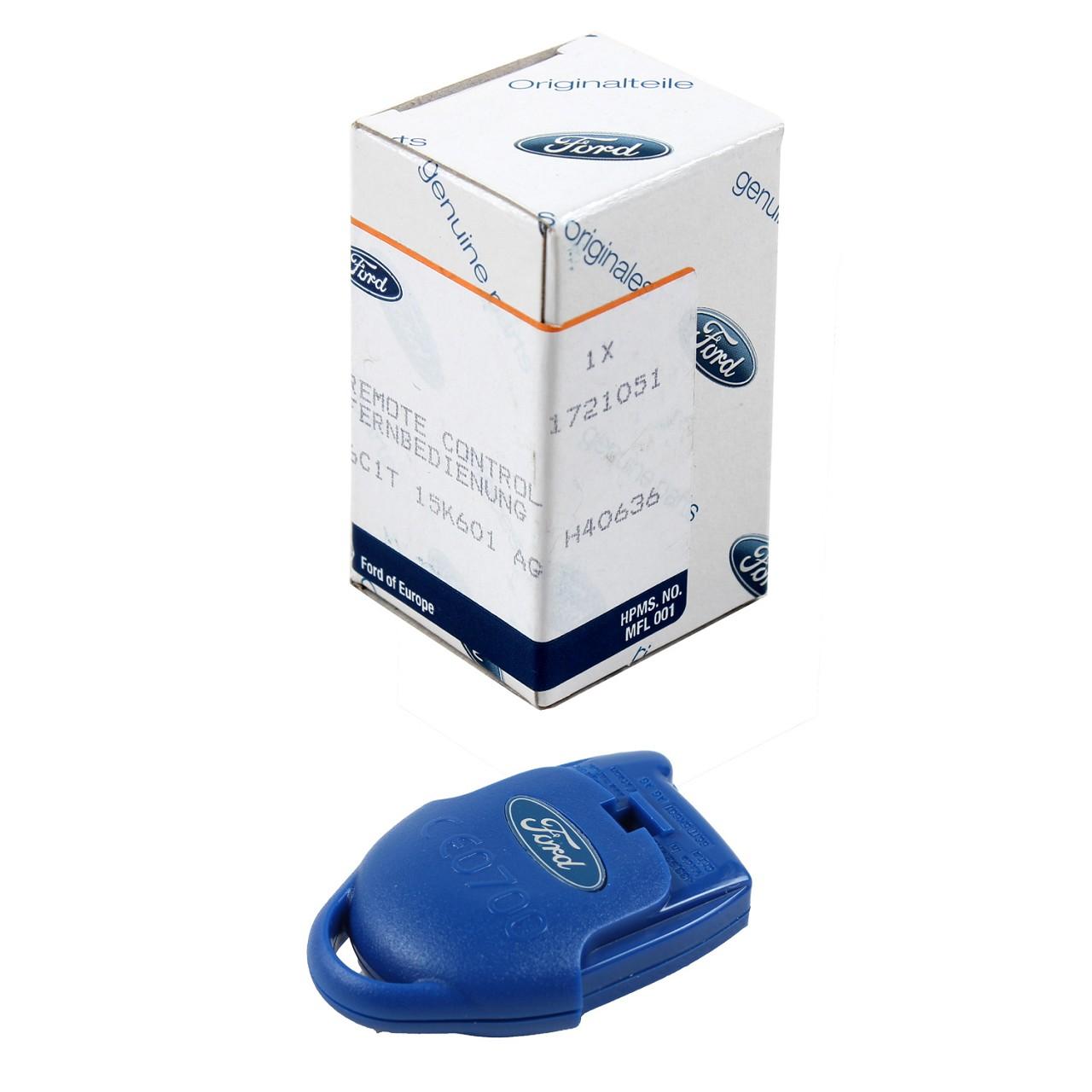 ORIGINAL Ford Sender Funkfernbedienung Fernbedienung 3-Tasten B-Max 1721051