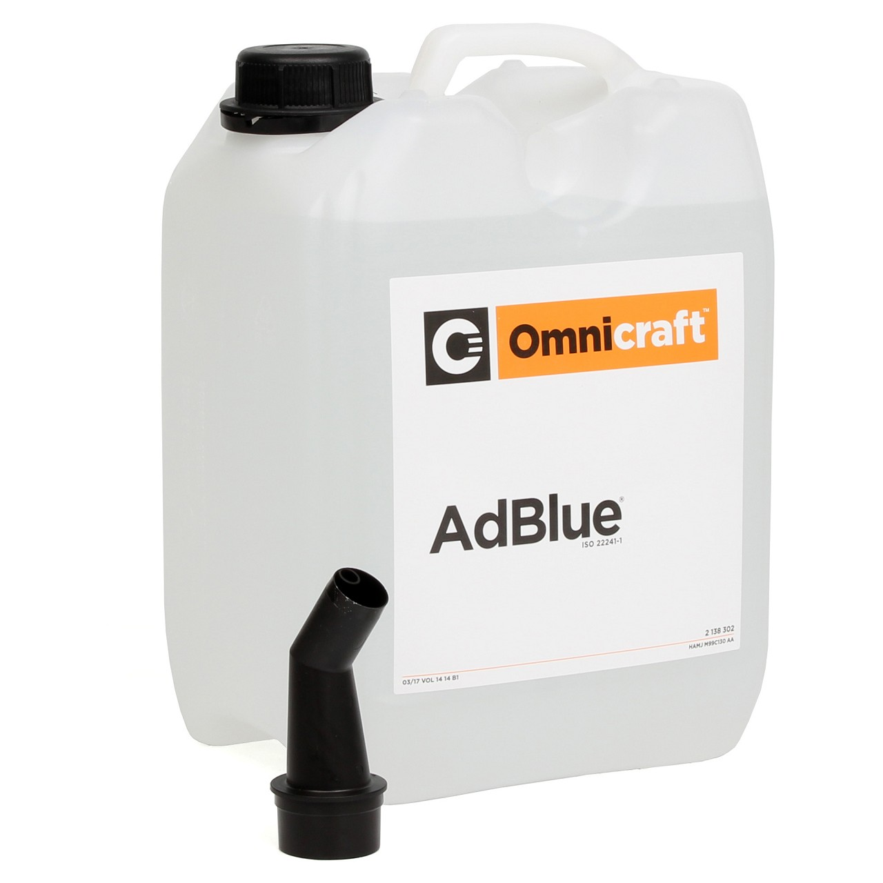 ORIGINAL FORD Kraftstoffadditiv 2138302 AdBlue 5 Liter Harnstofflösung SCR - 5L