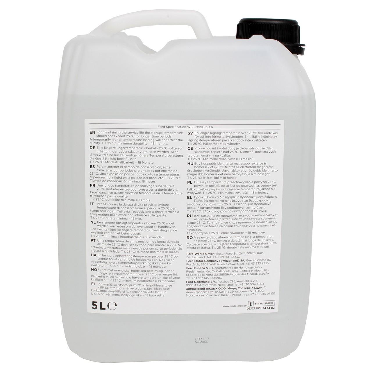 5 Liter Ford OMNICRAFT AdBlue NOX-Reduktionsmittel für Diesel-Motoren 2513124