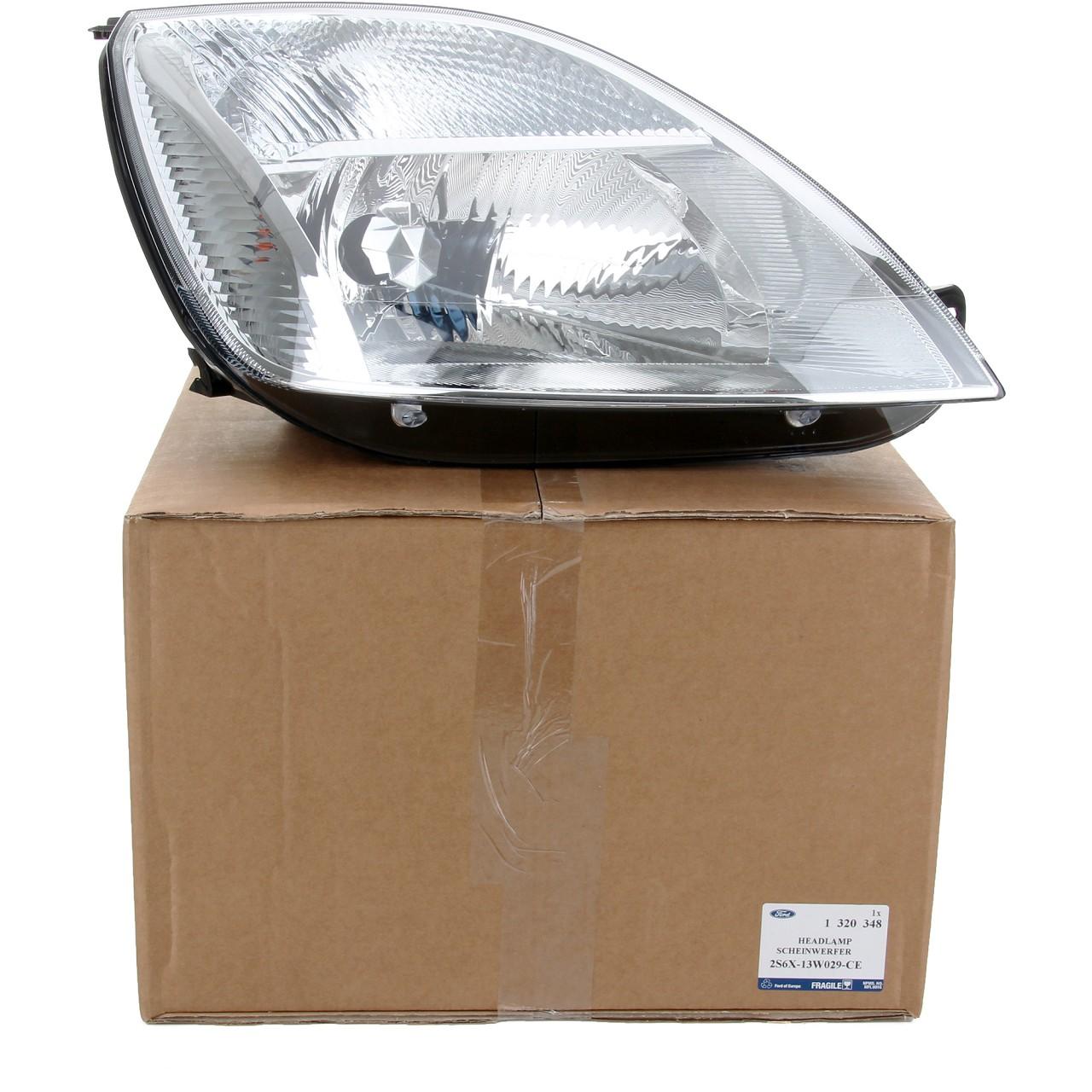ORIGINAL Ford Scheinwerfer HALOGEN für FIESTA V MK5 rechts 1320348