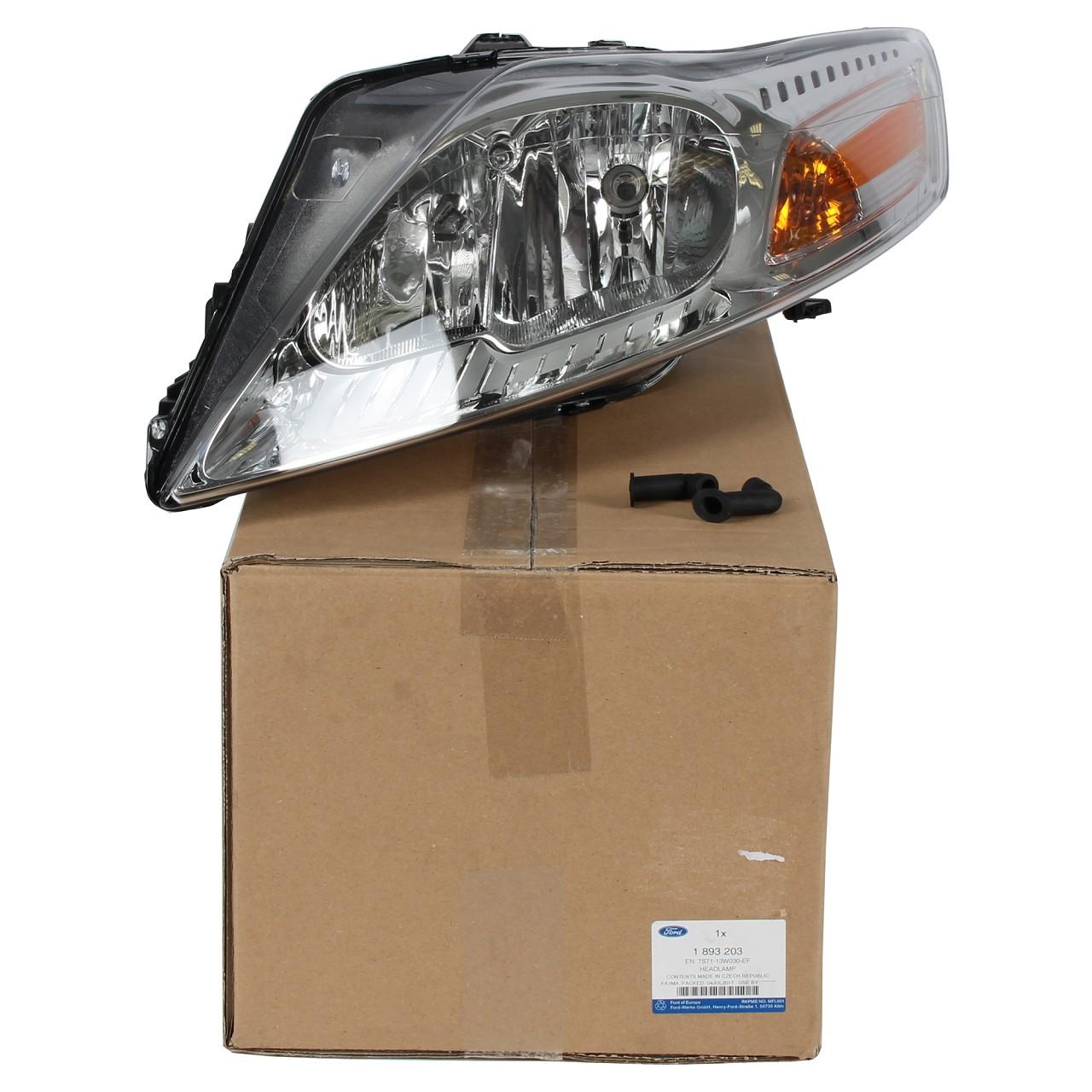 ORIGINAL Ford Scheinwerfer HALOGEN für MONDEO IV MK4 bis 12.2014 links 1893203
