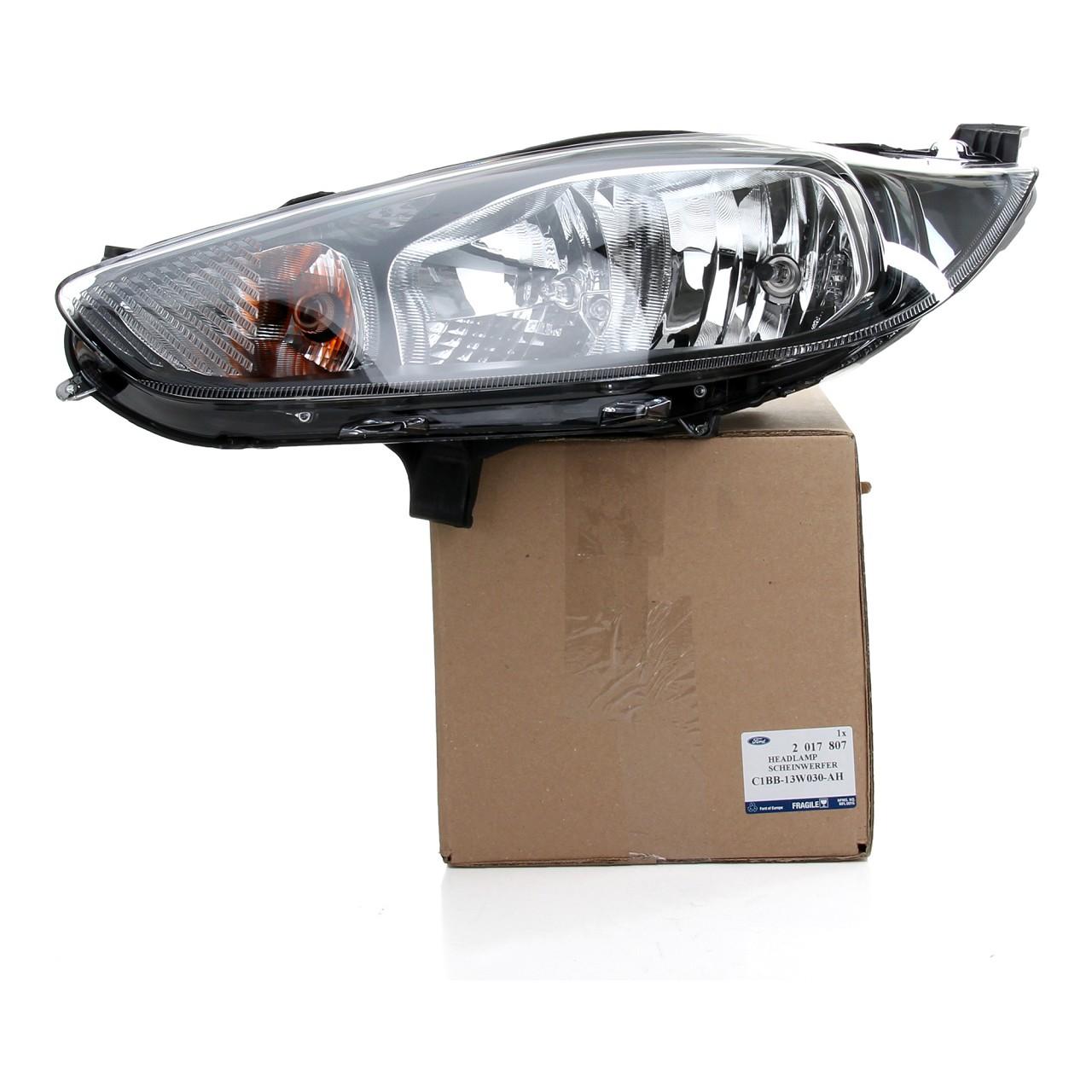 ORIGINAL Ford Scheinwerfer HALOGEN für FIESTA VI MK6 links 2126888